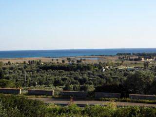 For sale 2 Villas, even singly, overlooking the sea with swimming pool, Ugento Marina
