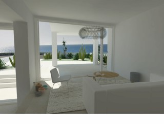 Two beautiful villas for sale, in front of the sea, With first floor swimming pool