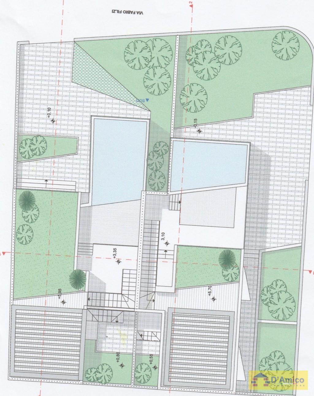 Vendesi due ville di pregio fronte mare con piscina a for Piani di casa di lusso con costi da costruire