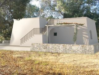 Terreno mq 5.000 con Progetto Villa mq 70 a 4 km dalla spiaggia