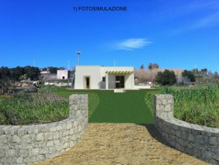 Pescoluse, Project Villa with pool, sea view, and 2 ancient Houses