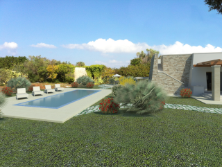 Villa Salento style, centuries-old olive trees, Swimming pool, stone Dependance