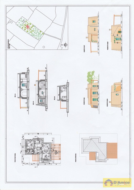 Terreno con ulivi progetto per villa con piscina e - Progetto villa con piscina ...