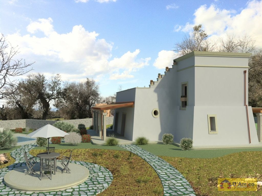 foto immobile Villa Masseria, da realizzare, vista mare, con Piscina e Mini Golf n. 23