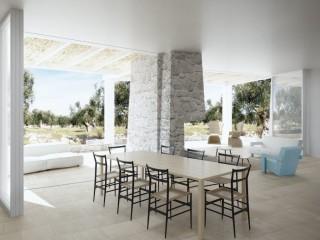 Terreno vista mare con progetto Villa e 2 fabbricati rurali in pietra