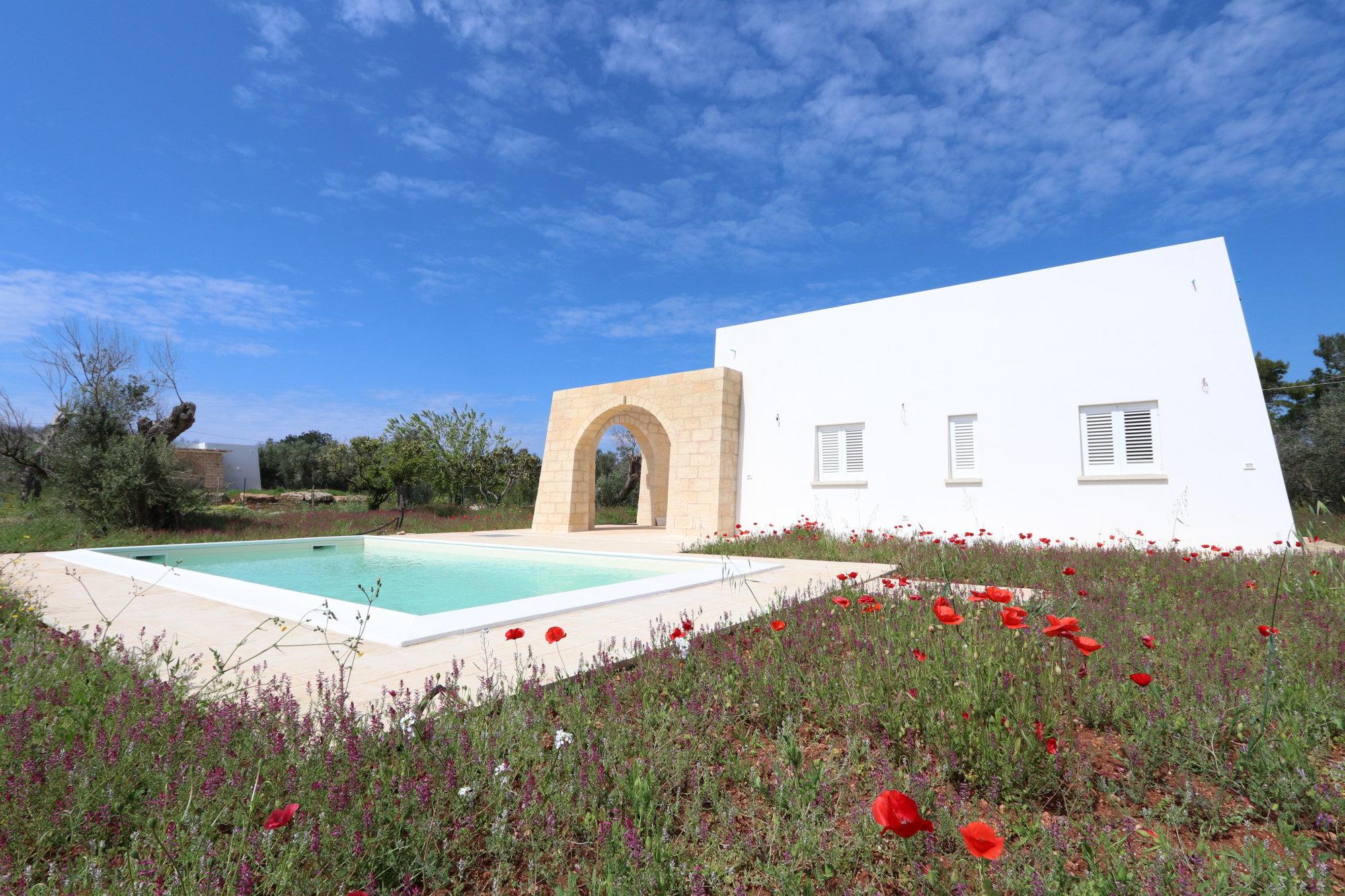 Villa tipica salentina con Piscina, a 2 km dalle spiagge di Pescoluse - Salve