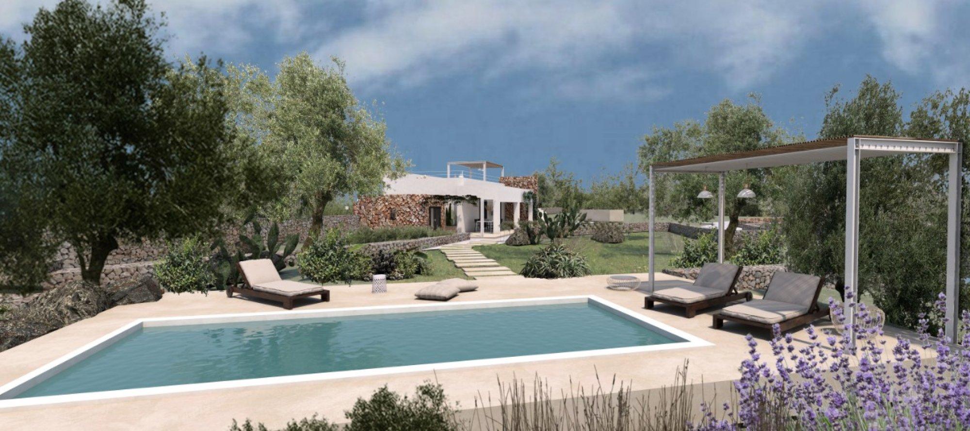 Casa antica tipica, con progetto di Restyling, con piscina - Morciano di Leuca