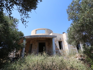 Rustic villa with Lamione and ancient olive trees, 1 km from the sea