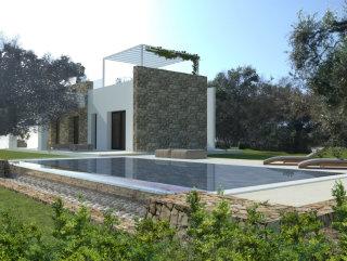 Villa e Piscina da costruire tra ulivi, a 1 km da S.M. di Leuca
