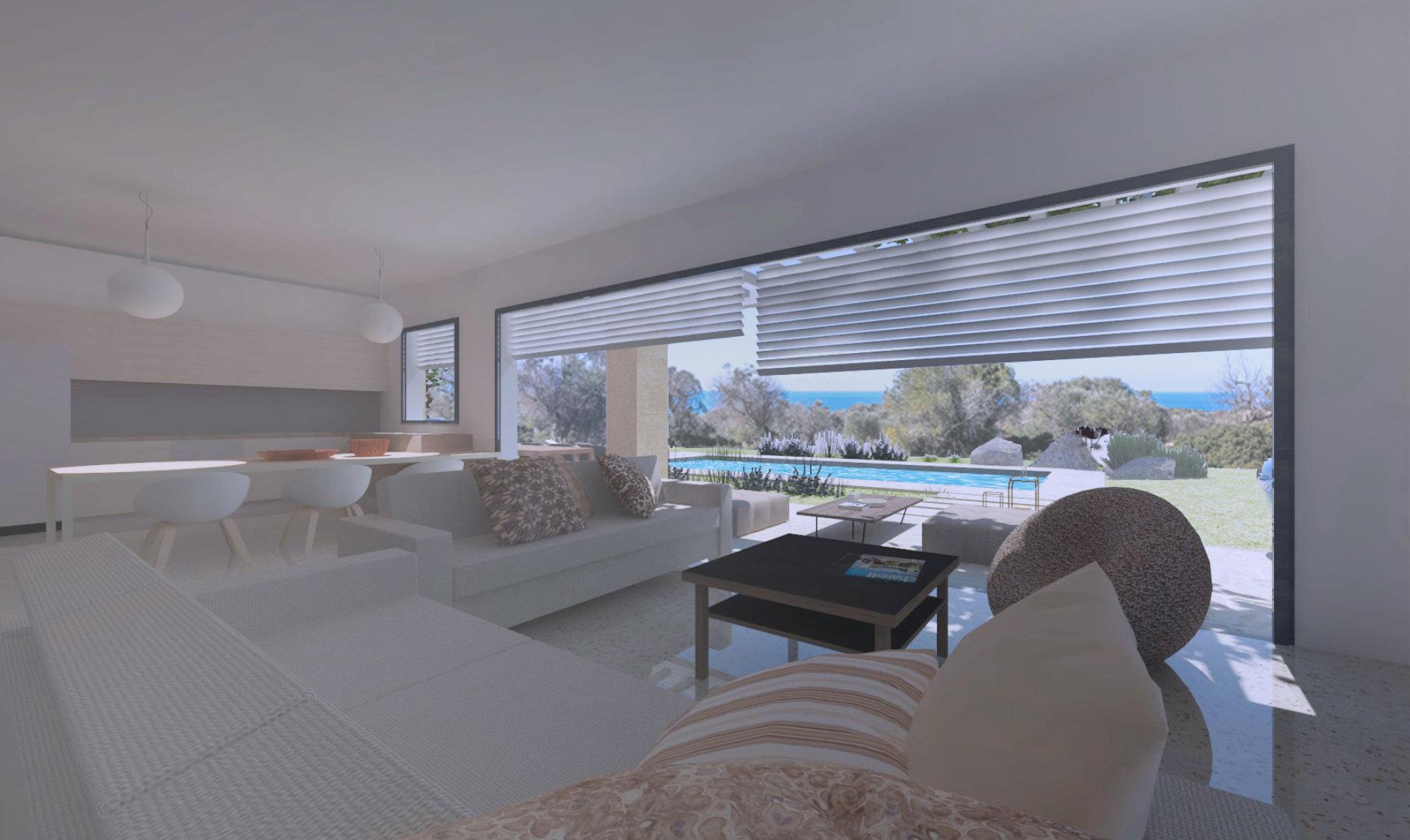 Terreno vista mare con progetto approvato Villa e Piscina a Santa Maria Di Leuca - Castrignano del Capo