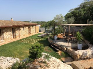 Salento farmhouse with sea view, renovated, with Mini Pool