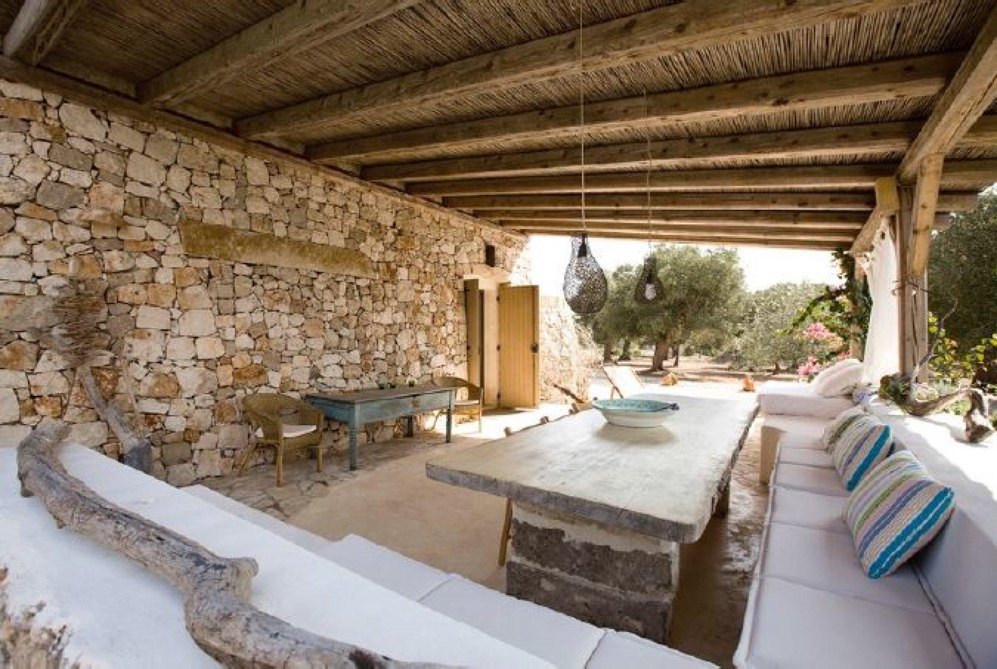 Pescoluse Villa in Pietra con Piscina vista mare - Salve