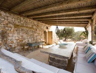 Pescoluse Villa in Pietra con Piscina vista mare
