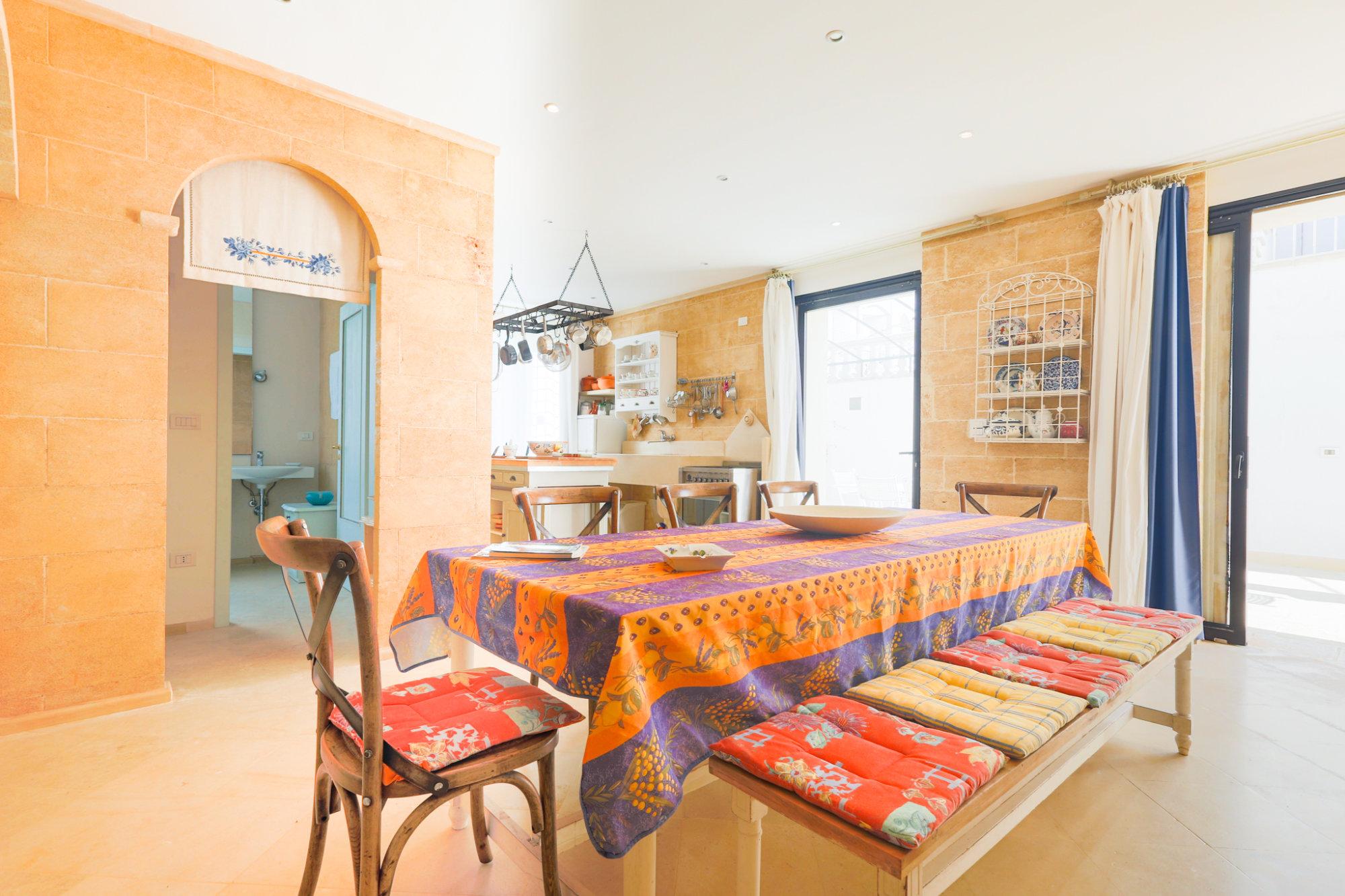 Appartamento di pregio, con giardino, a 350 metri dalla spiaggia - Salve